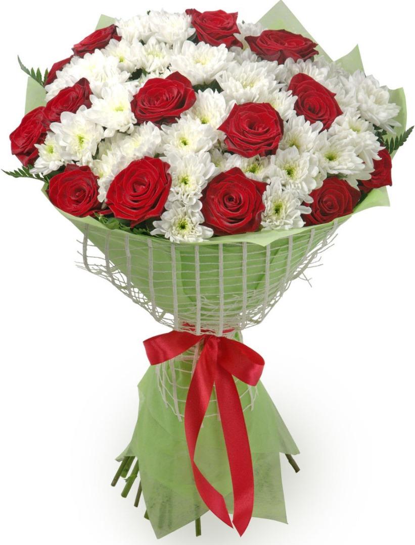 Букеты из хризантем и роз фото красивые