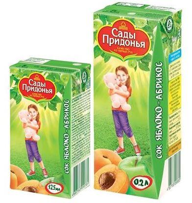 сады придонья сок ябл/тыква 0,2л