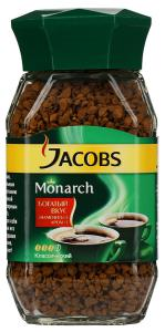 "Кофе ""Jacobs"" Monarch растворимый сублимированный, 47.5г"