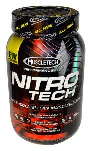 "Протеин ""Muscletech"" Nitro Tech Performance series шоколад, 900г"