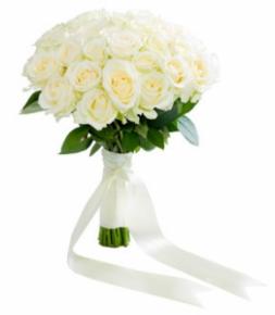 Букет на свадьбу роз