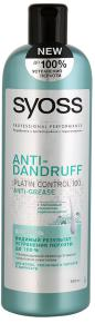Шампунь Syoss Anti Dandruff Green, 500 мл