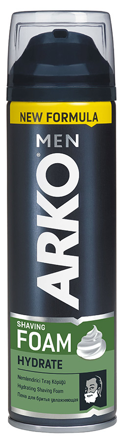 Пена для бритья Arko Men Hydrate, 200 мл.