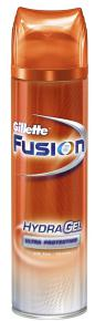 Гель для бритья Gillette fusion Hydra Gel Ultra protection Ультра защита, 200 мл.