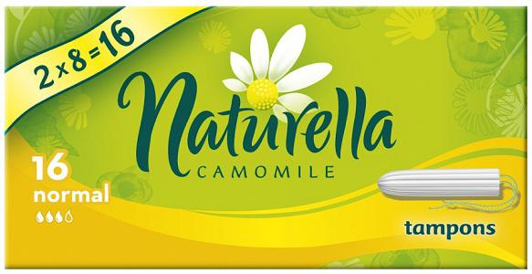 Тампоны Naturella Camomile normal 16 шт.