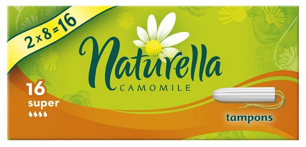 Тампоны Naturella Camomile super 16 шт.