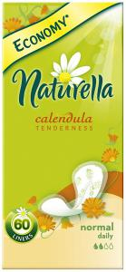 Прокладки Naturella Calendula Tenderness Normal с ароматом календулы Trio, ежедневные 60 шт.