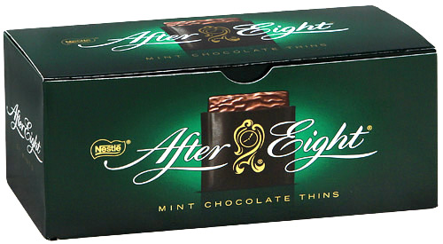 "Шоколад ""Nestle"" After Eight мята, 200г"