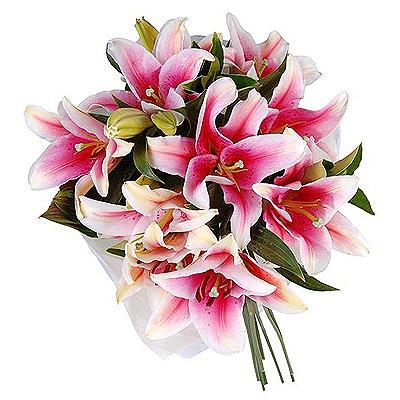 Цветы букеты фото лилии