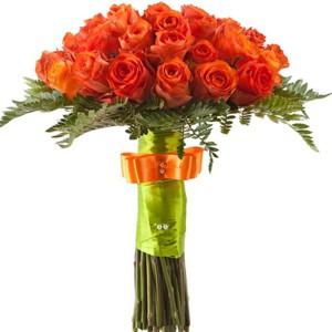 Букет из роз на 1 сентября фото