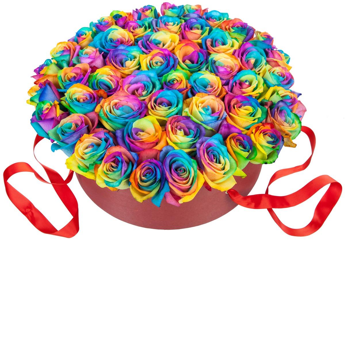 Розы цветные картинки