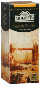 "Чай черный ""Ahmad Tea"" English №1, 25шт"