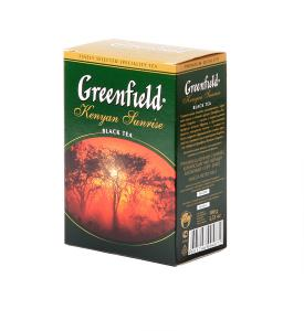 "Чай черный ""Greenfield"" Kenyan Sunrise, 100г"