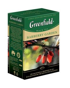 "Чай черный ""Greenfield"" Barberry Garden, 100г"