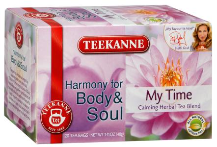 "Чай травяной ""Teekanne"" Body&Soul My Time, 20шт"