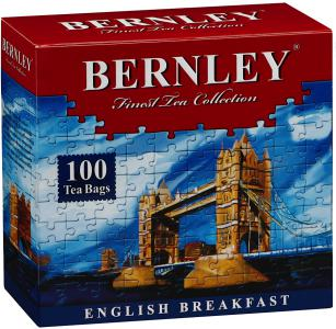 "Чай черный ""Bernley"" English Breakfast, 100шт"
