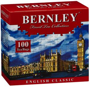"Чай черный ""Bernley"" English Classic, 100шт"