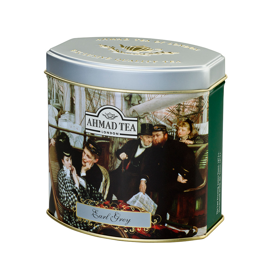 "Чай черный ""Ahmad Tea"" Fine Tea Collection Earl Grey, 100г"