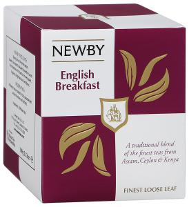 "Чай черный ""Newby"" English Breakfast, 100г"