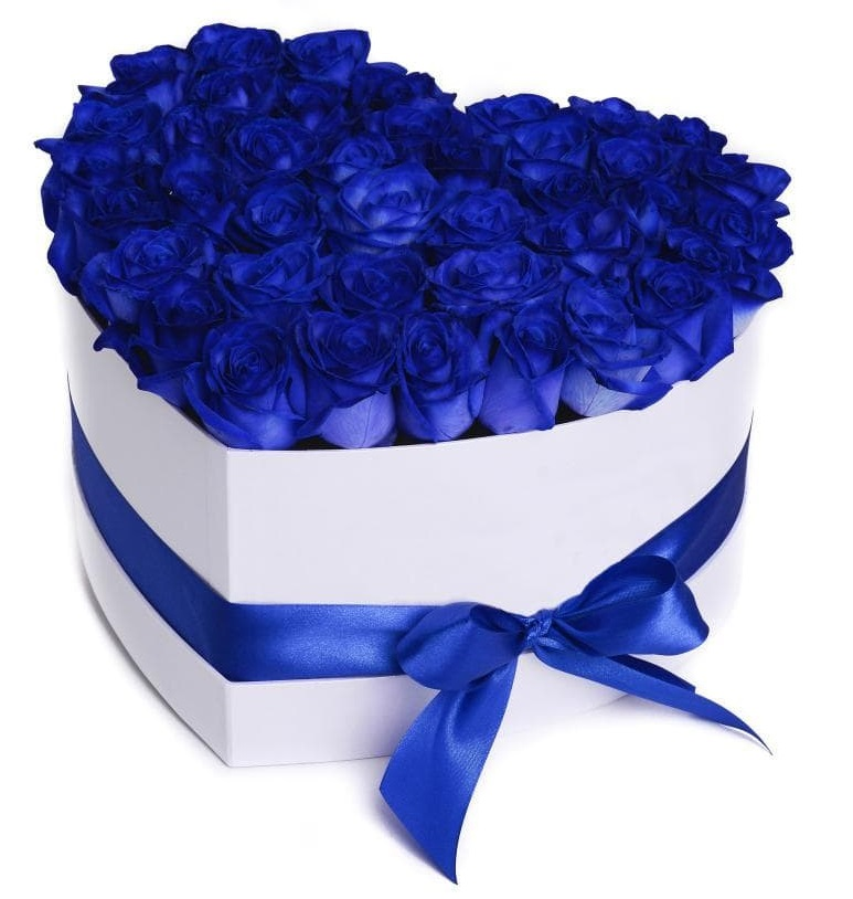 Купить живые синие розы доставка цветов в городе курске