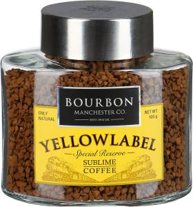 "Кофе ""Bourbon"" Yellowlabel растворимый, 100г"
