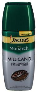"Кофе ""Jacobs"" Monarch Millicano молотый в растворимом, 95г"