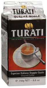 "Кофе ""Turati"" Qualita Nobile молотый, 250г"