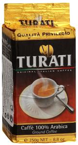 "Кофе ""Turati"" Qualita Privilegio молотый, 250г"