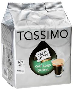 "Кофе ""Tassimo"" Carte Noire Cafe Long Delicat молотый, 110г"