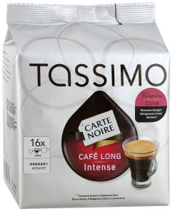 "Кофе ""Tassimo"" Carte Noire Cafe Long Intense молотый, 128г"