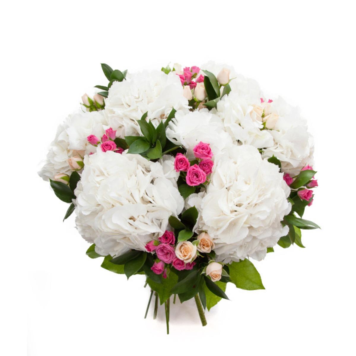 Цветов девушке кустовые розы в букете 5 штук цветы