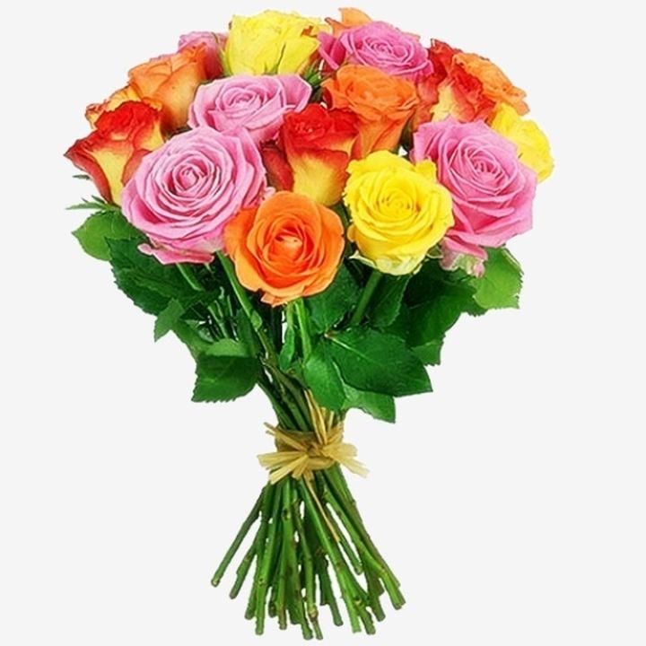 Как сделать букет из 21 розы